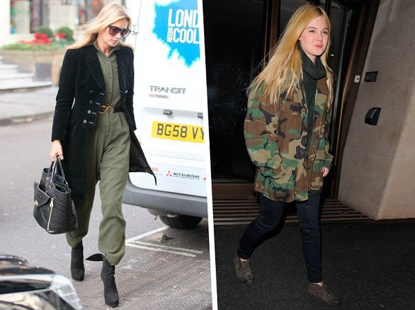 Veste militaire femme look
