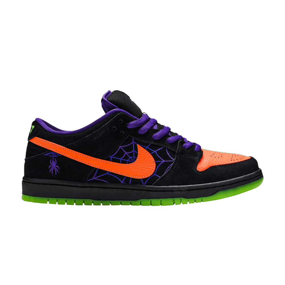 Dunk Low SB 'Night of Mischief' Dunk low, Orange leather