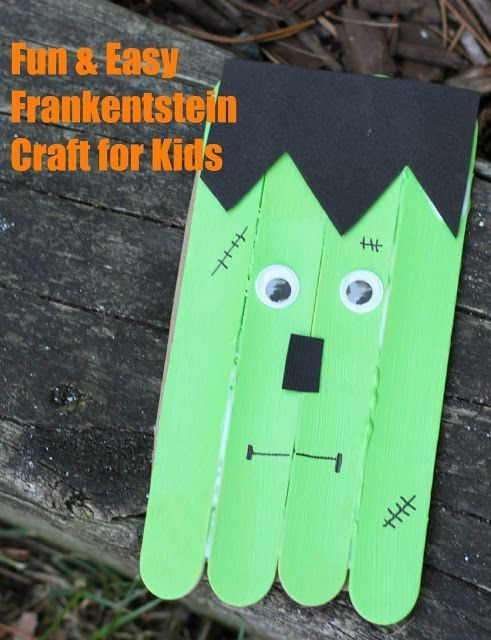 5 Halloween Crafts for Kids Easy Projects to make with Kids - halloween decorations for kids to make