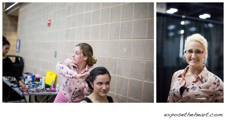 Merveilleux CHAIRISH The Day Hair U0026 Makeup San Antonio Bridal Extravaganza Wedding  Guide Expose The Heart Bridal