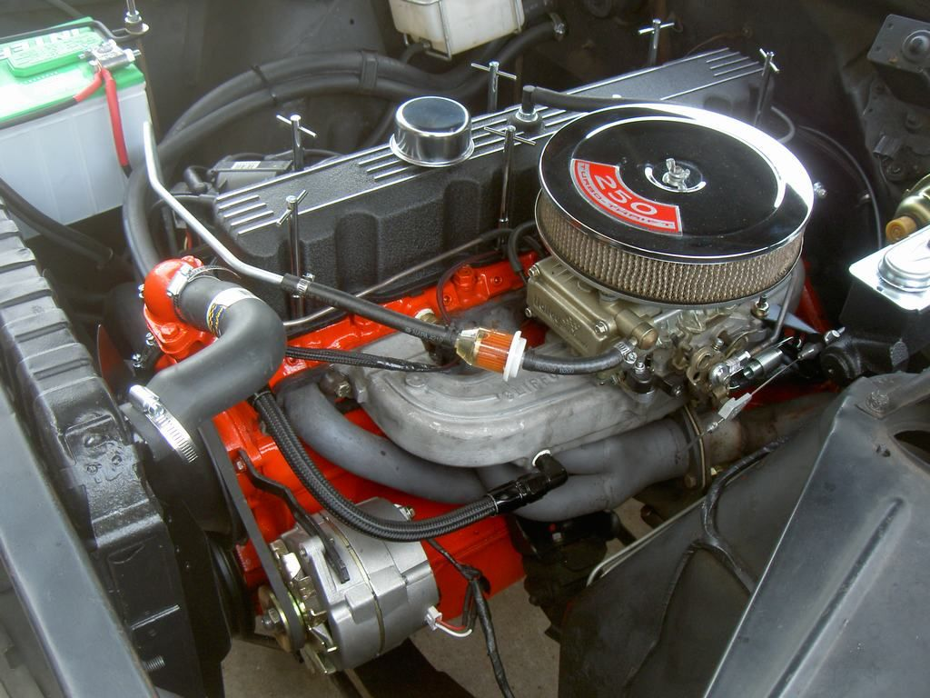 All Chevy chevy 250 engine : Tricked-out Chevy six cylinder engines - Page 17 - The 1947 ...