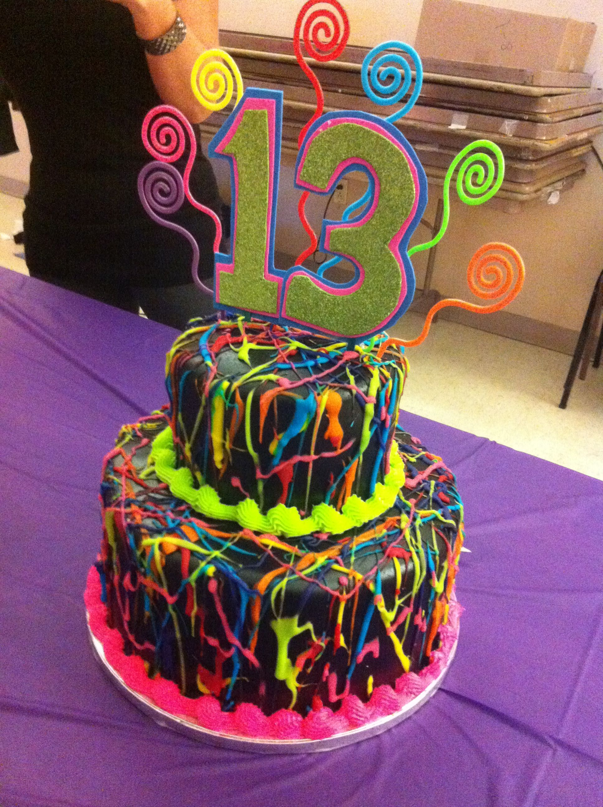 Awsome Cake For 13th Birthday I Love That Cake I Want To Go