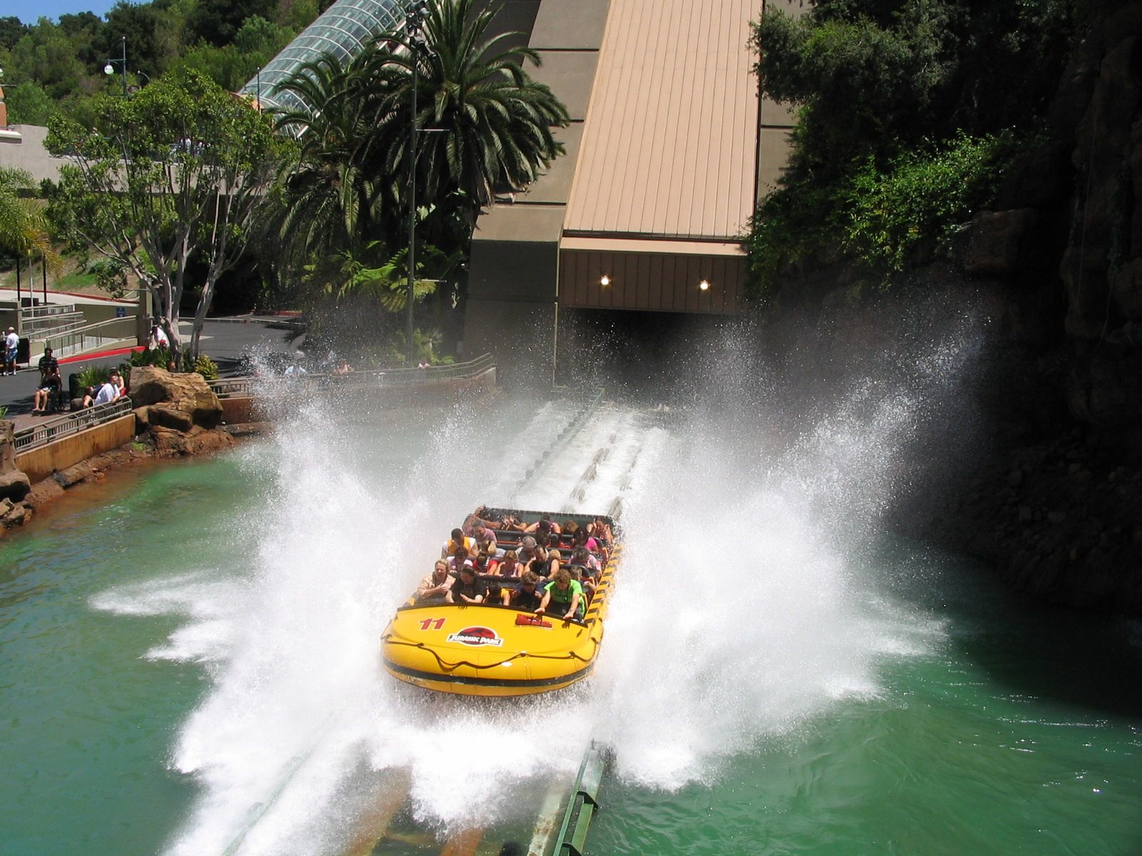 """Jurassic Park"" ride at Universal Studios, California | My ..."