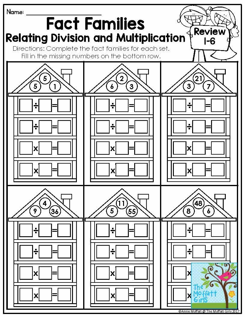 Boost Division Skills In 9 Fun And Effective Ways Fact Families Fact Family Worksheet Teaching Multiplication
