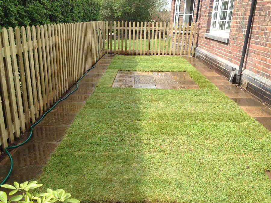 Small Backyard Fence Idea Garden Borders Backyard Garden
