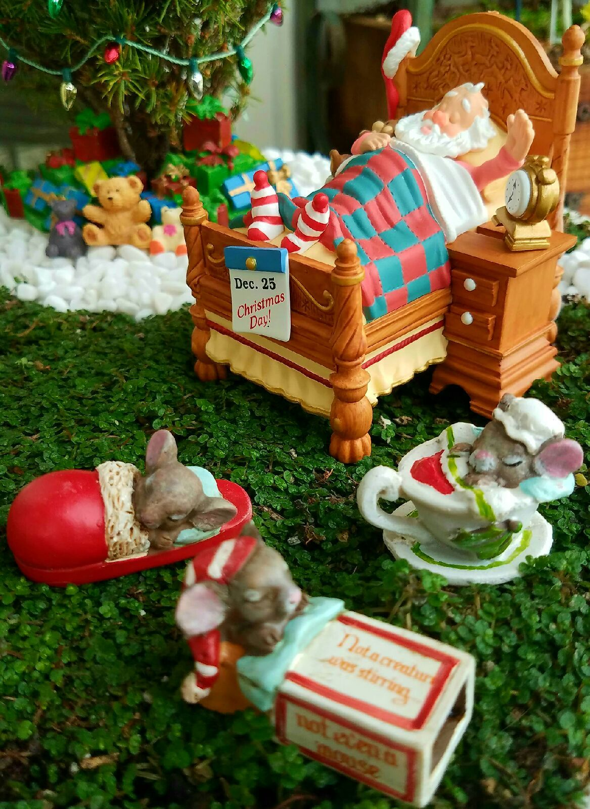 Medium Of Fairy Garden Christmas