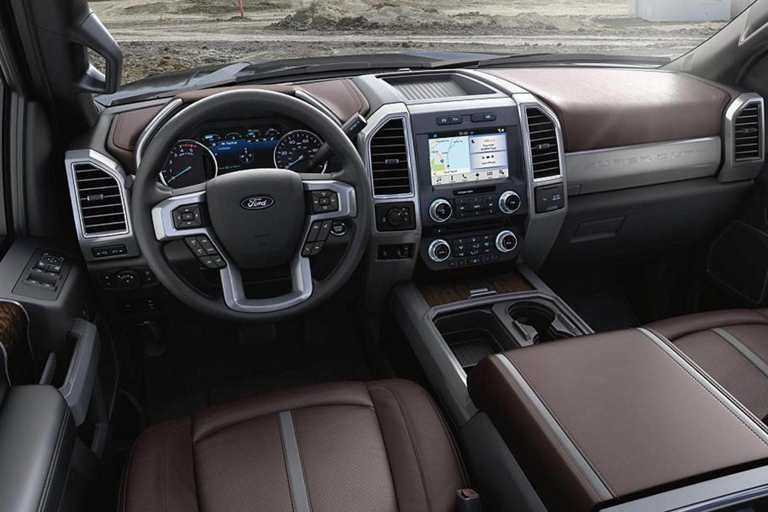 Super Duty Platinum Interior In Brunello Ford Super Duty Trucks Ford Super Duty Super Duty Trucks