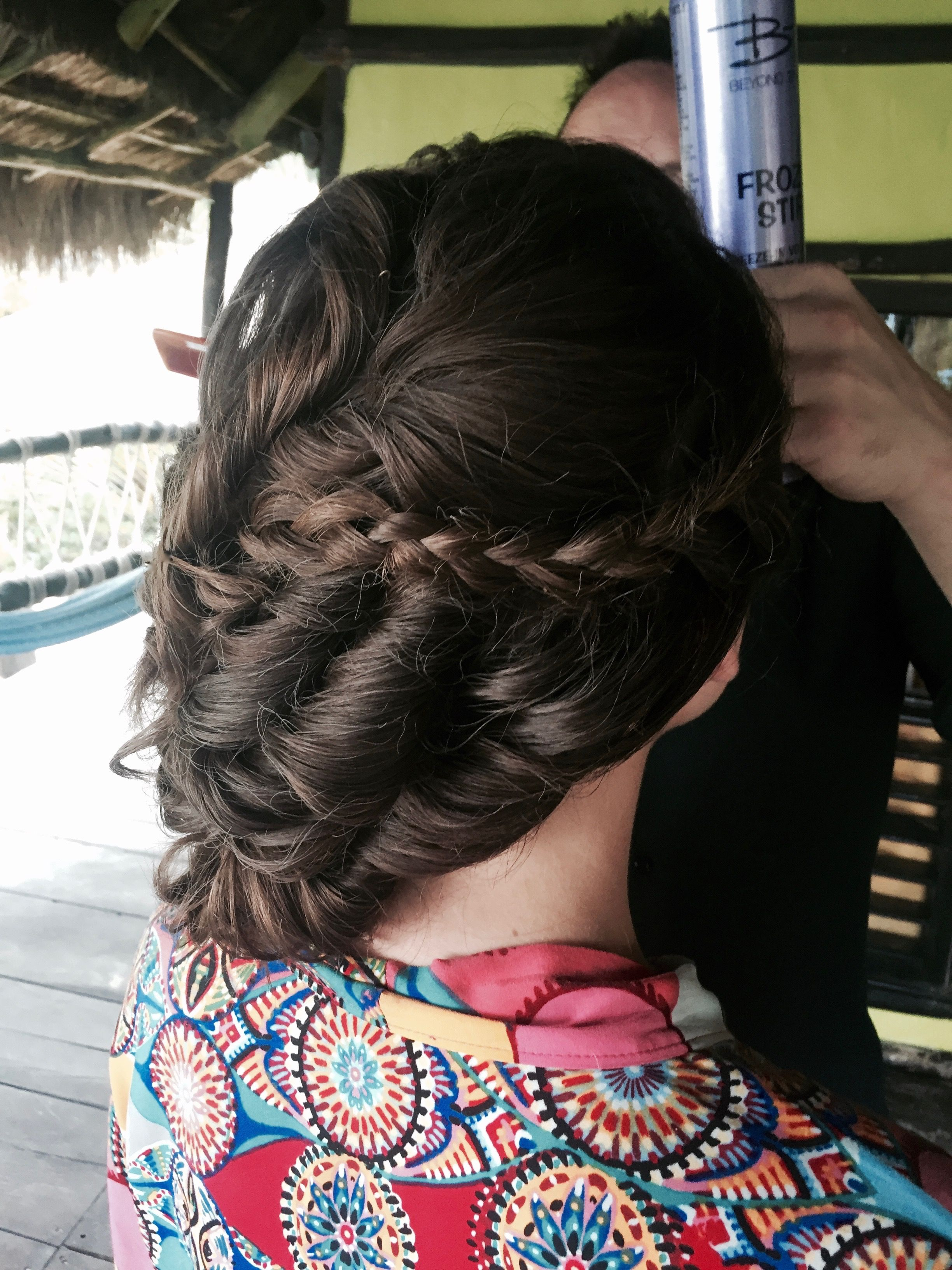 Braided Perfection Perfect Mexican Beach Hair By Beso Brides