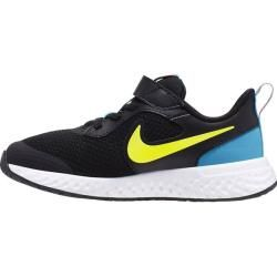 Nike Kinder Sneaker Revolution 5 Grosse 35 In Black Lemon Venom Laser Blue Grosse 35 In Black Lemon In 2020 Schwarz Nike Kinder Kinder Sneaker