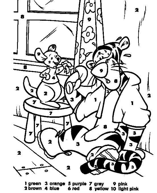 Color By Numbers Page Print Your Free Color By Numbers Page At Allkidsnetwork Com Disney Coloring Pages Disney Coloring Sheets Pokemon Coloring Pages