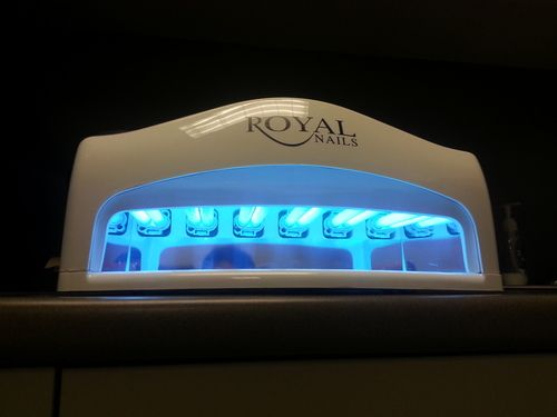 Royal nails professional uv light