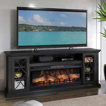 Pin On 900 Ashfield Drive Tv stand with fireplace for 70 inch tv