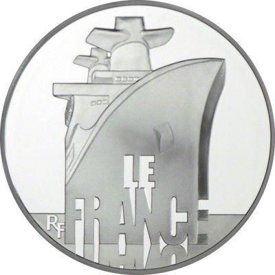 10 Euro Silber Französische Schiffe: France PP