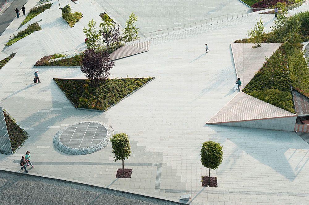 Sishane park is a bold shift regarding the public spaces for Spaces landscape architecture