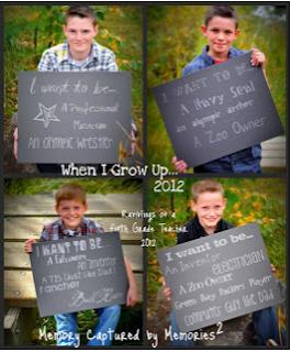 Think, Wonder, & Teach: Chalkboard + Photo + Writing Project = BRILLIANT!