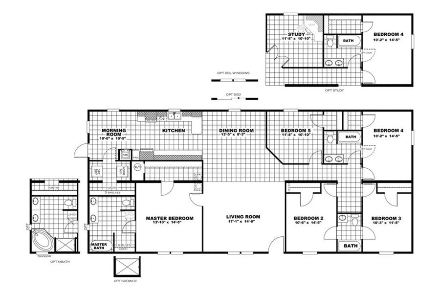 Oakwood Homes Floor Plans floorplan the kingston | 30crb32685ah | oakwood homes of newton