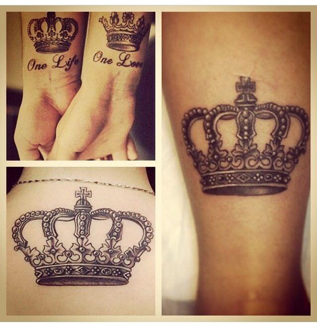 crown tattoos tatoo pinterest tattoo ideen und ideen. Black Bedroom Furniture Sets. Home Design Ideas