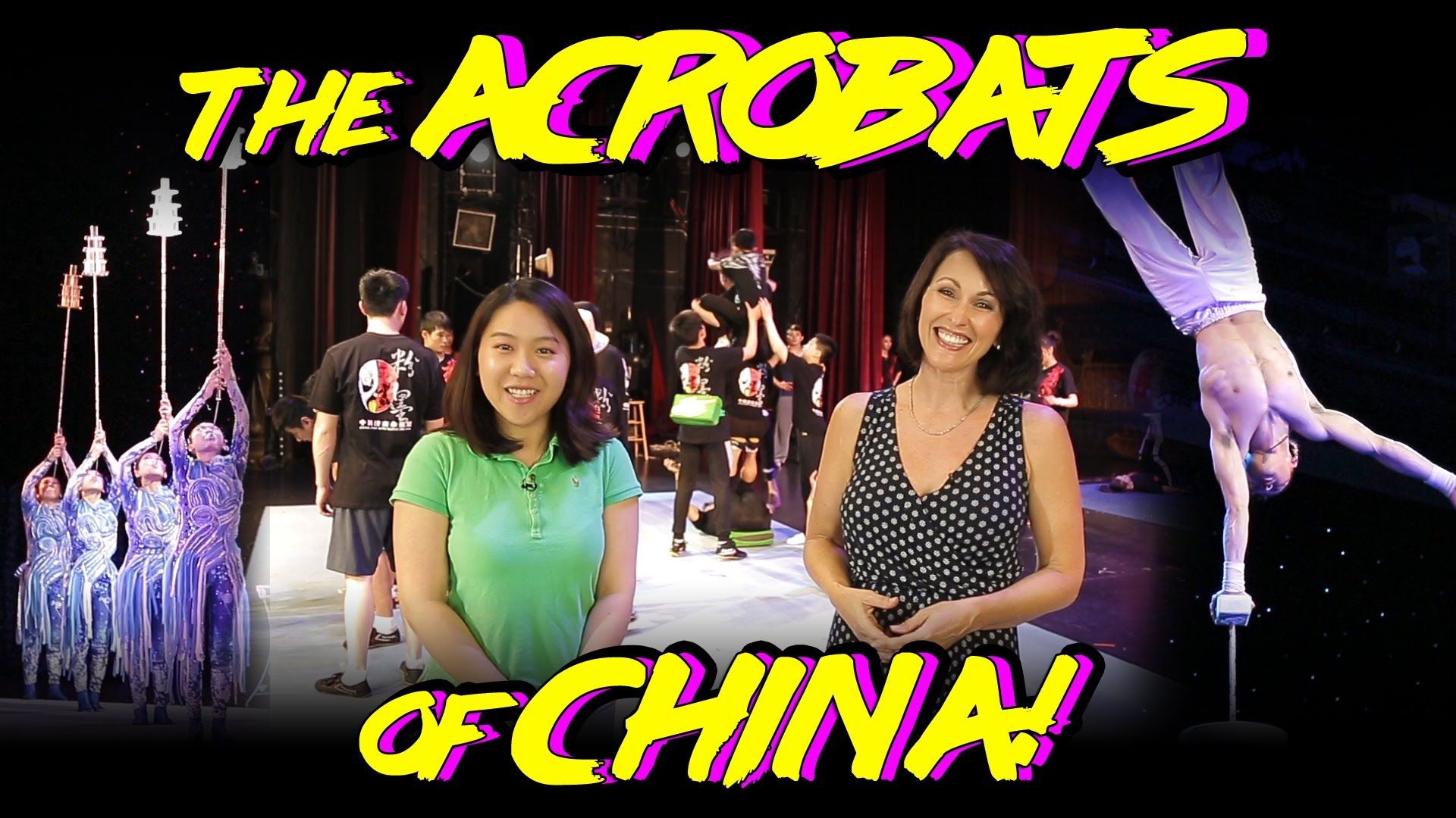 The Acrobats of China Featuring New Shanghai Circus - Branson Missouri