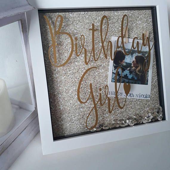 Birthday Gift For Best Friend, Besties, Birthday Girl, 18th Birthday Frame, 21st Birthday