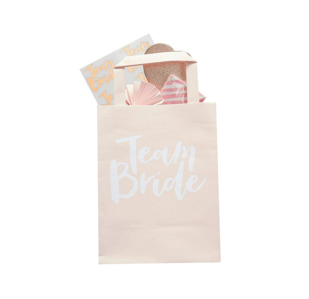 Paper Gift Bags Wholesale Team Bride