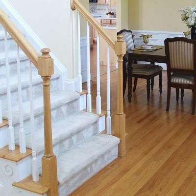 Best Stair Parts 5015 36 In X 1 1 4 In Primed Tapered 400 x 300