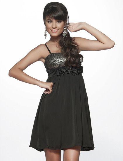 Φόρεμα Σέλυ - Κομψό φόρεμα για επίσημες εξόδους, στο μπούστο είναι λαμέ και διακοσμημένο με τριανταφυλλάκια.Οι τιράντες του είναι ρυθμιζόμενες, η πλάτη το είναι ελαστική και κουμπώνει με κρυφό φερμουάρ  στο πλάι. 24.99€ #dress #fashion #moda