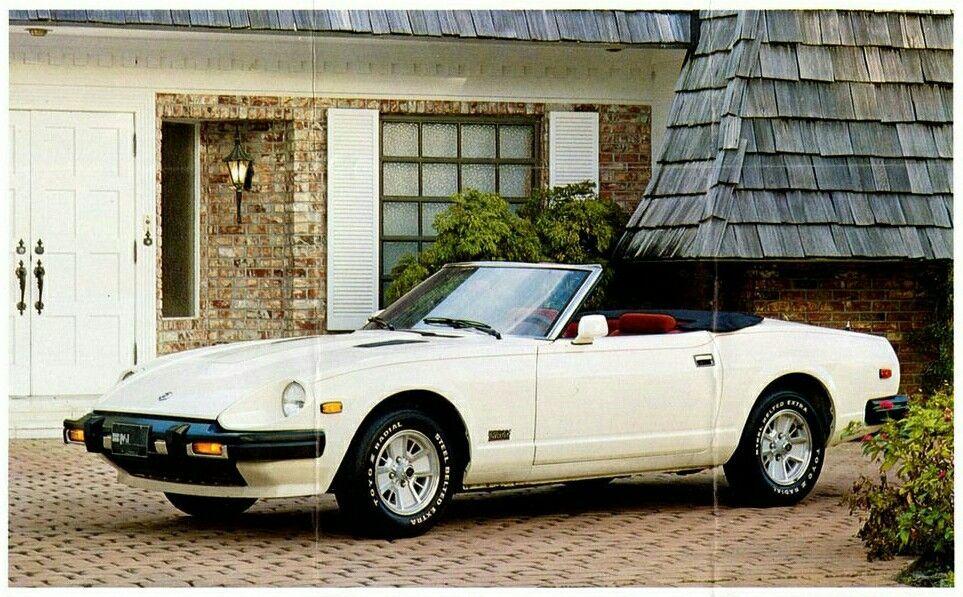 1983 Datsun 280zx Turbo Convertible Datsun Convertible Nissan