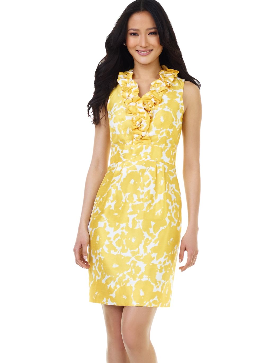 Dress obvious yellow obsession pinterest rush dresses