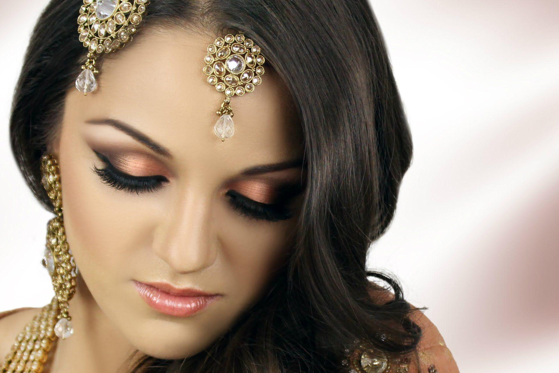Asian Bridal Makeup Tutorial Peach Smokey Eye Akeup