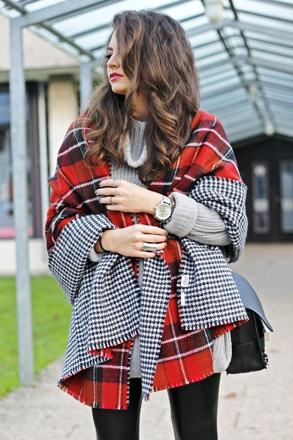 FashionHippieLoves: scarf meets cape