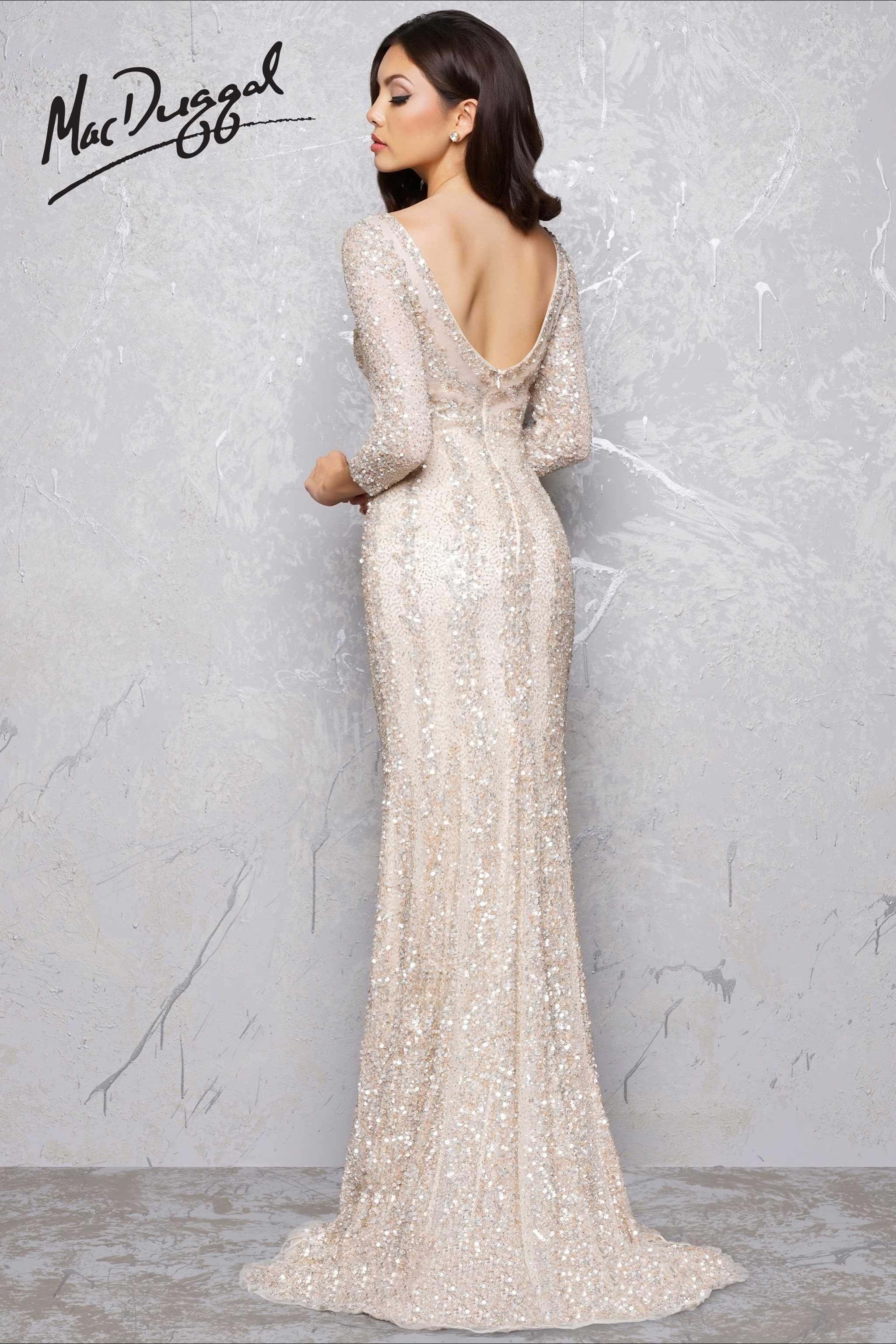 Platinumnudebkg fashion gown vestido de