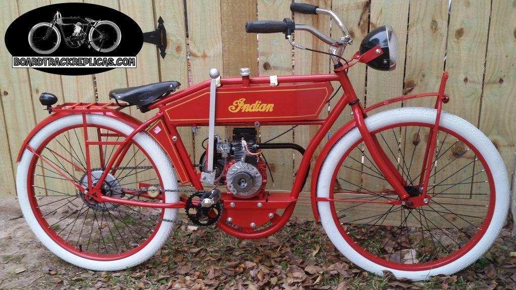 1913 Harley Indian Board Track Replica W Springer Forks Moto