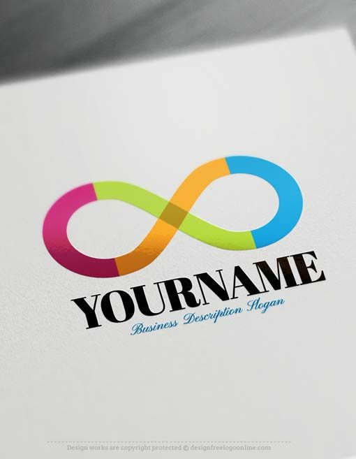 Make Your Own Infinity Symbol Logo Free With Design Maker