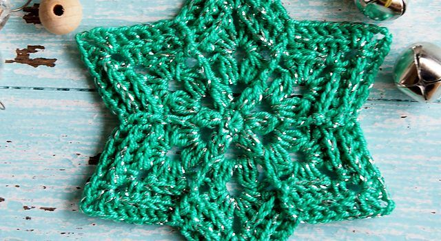 Flower Star Snowflake Pattern You'll Love, Love, Love ...