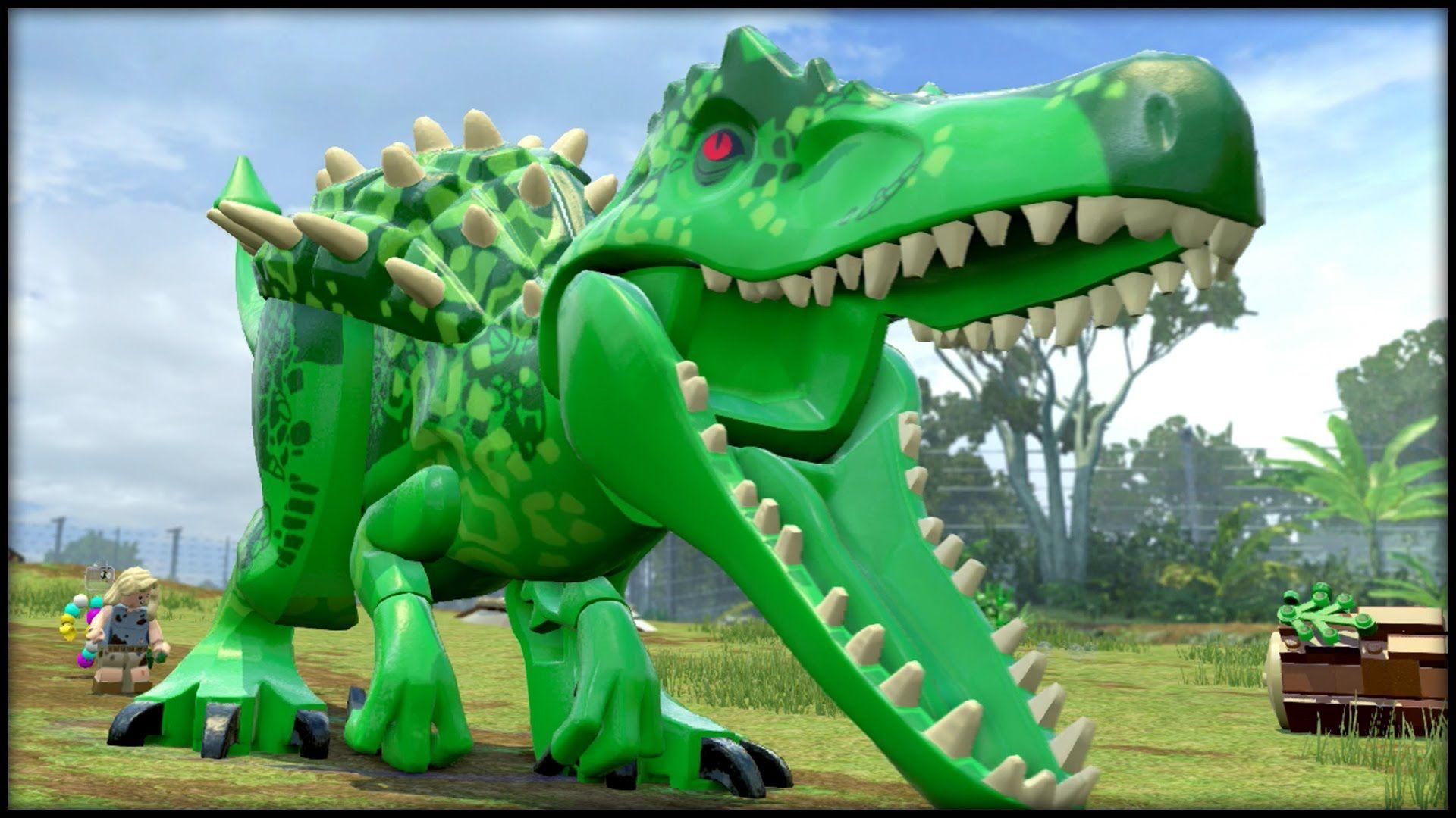 Lego Jurassic World Indominus Hulk Indominus