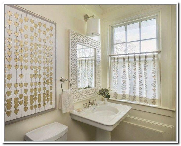 Cafe Curtains Bathroom Window