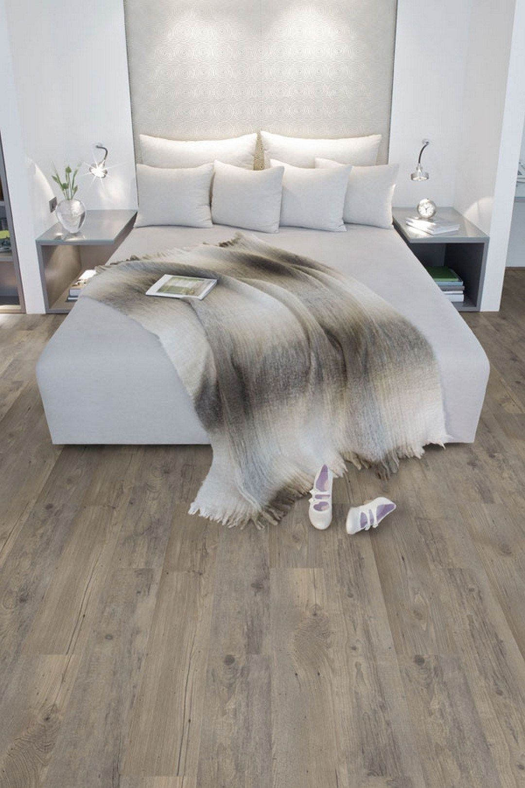 Perfect Color Wood Flooring Ideas 1 White Wood Floors Bedroom Flooring Luxury Vinyl Flooring