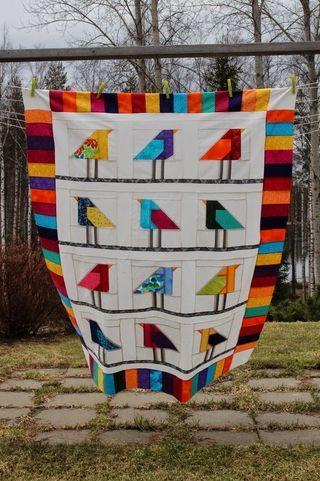 Linnut aitauksessa