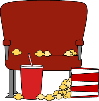 empty movie theater seat with spilled popcorn popcorn images rh pinterest ca