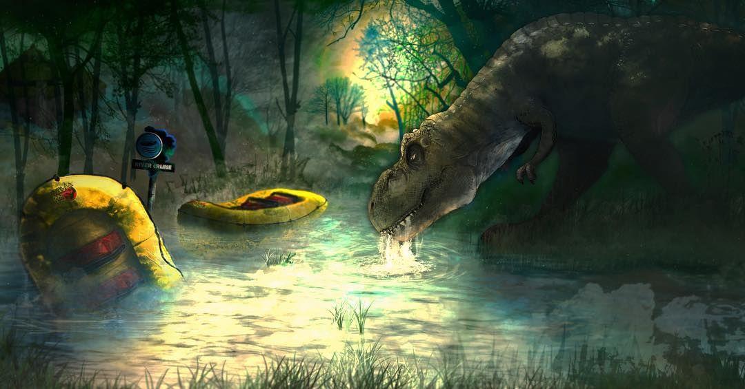 Jurassic Park - River Cruise   Jurassic park, Jurassic ...