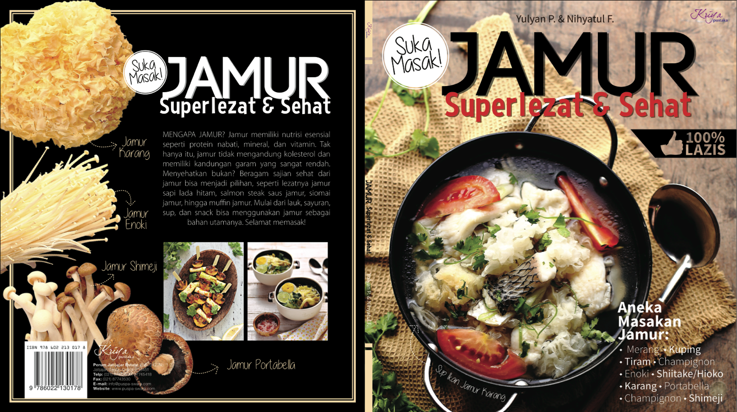 Book Cover (July 2014) Jamur