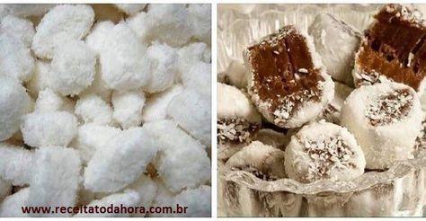 Bala De Coco Que Nao Vai Ao Fogo Receita Com Imagens Balinha