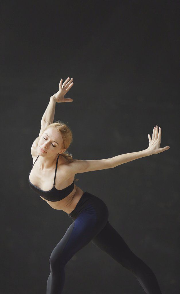 Iana Salenko of Berlin State Ballet and Zarely Role Model features Iana leggings by Zarely named after her