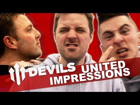 YouTubers do Manchester United player impressions! | #Copa90DayOut | DEVILS