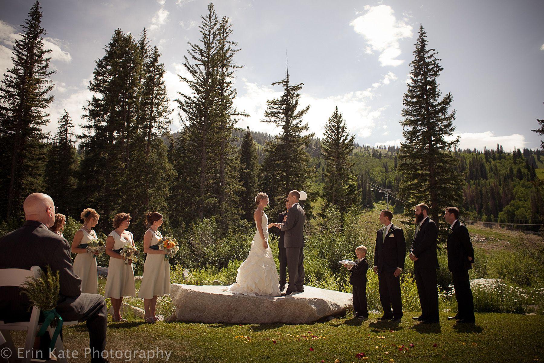 Beautiful mountain wedding at Solitude Mountain Resort in ...