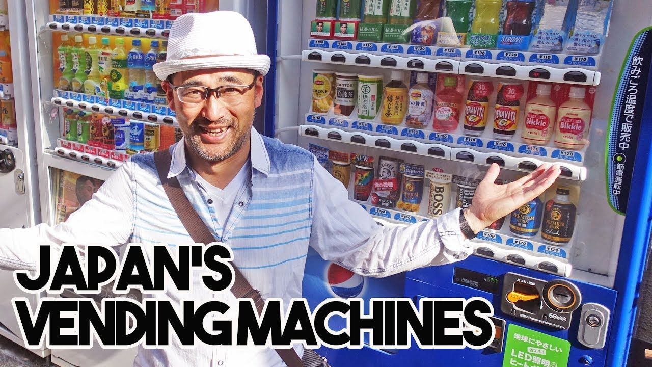 What to Buy from Japan's Vending Machines - YouTube ...