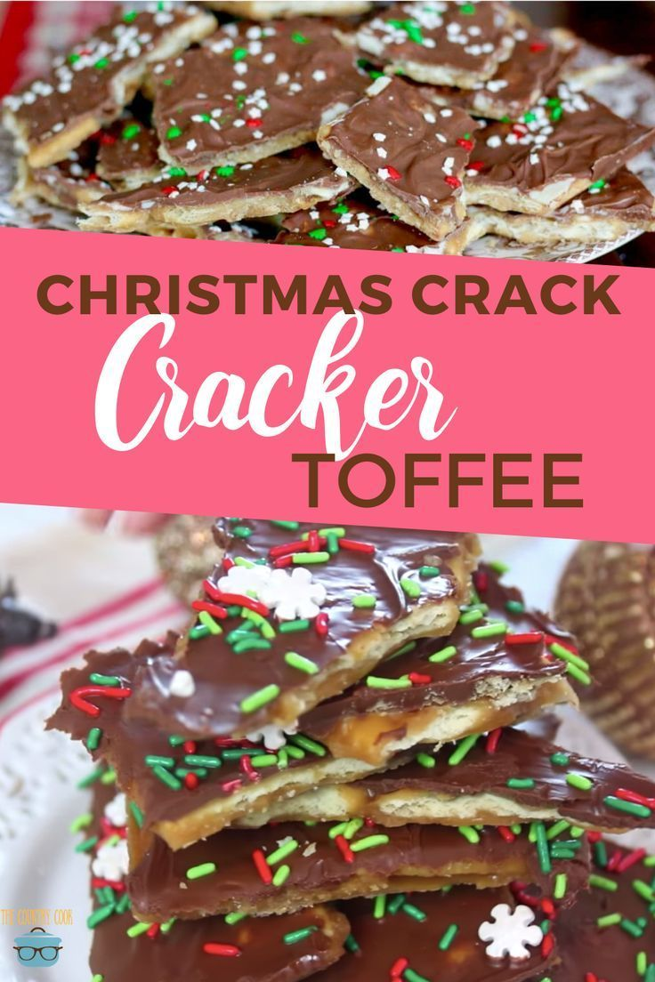 Christmas Crack (Cracker Toffee)