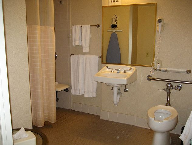 Tips for Installing a Handicap Toilet - Remodeling private home ...