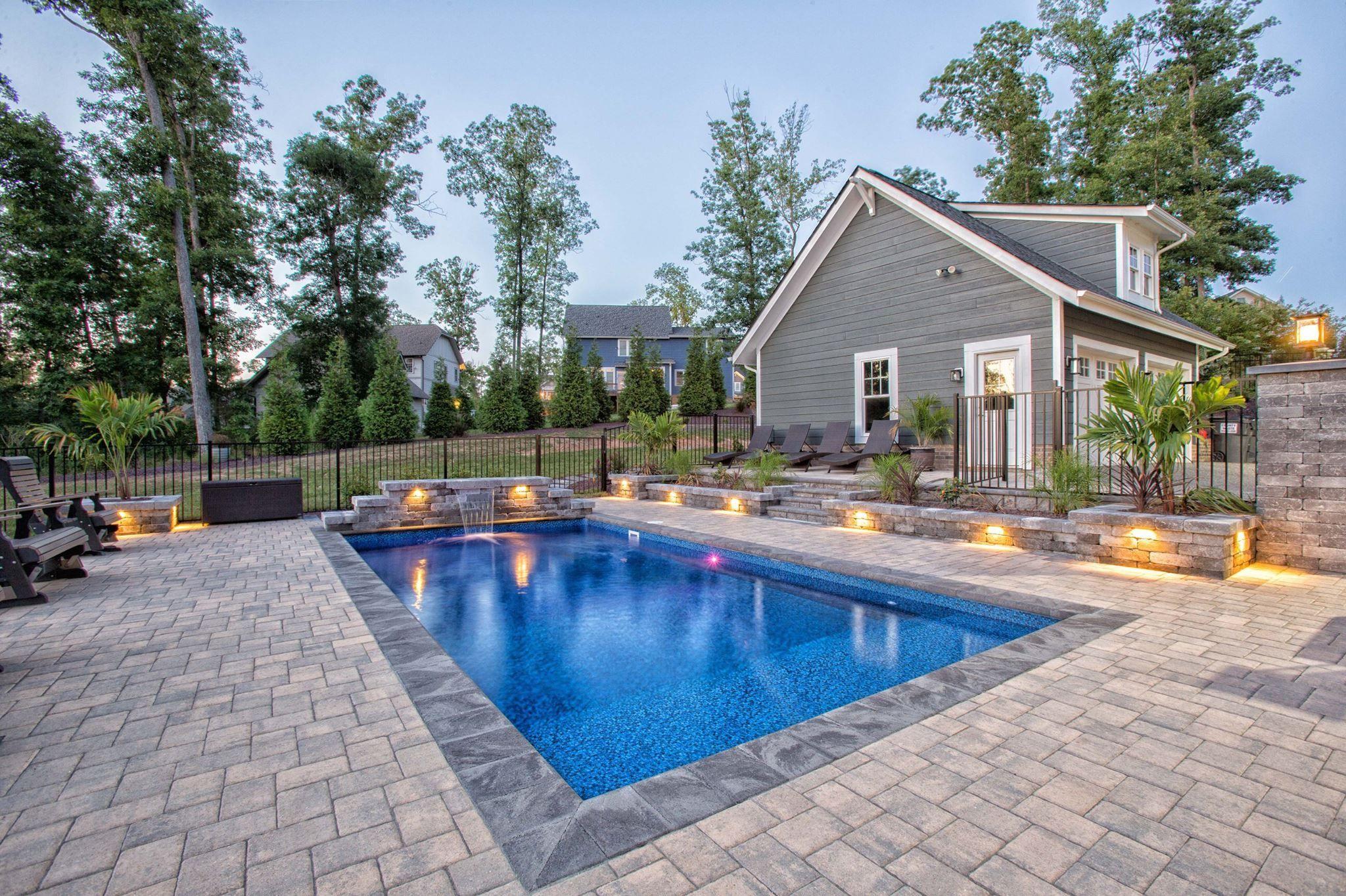 House Pools, Porches, Verandas, Porticos, Front Porches, Front Yards, Terraces,