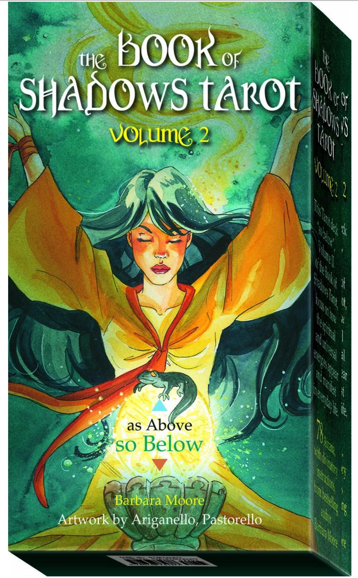 Image amazon book of shadows tarot tarot cards art